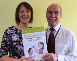 Nicola McIlwraith and Mike Wagner who completed the Grant submission