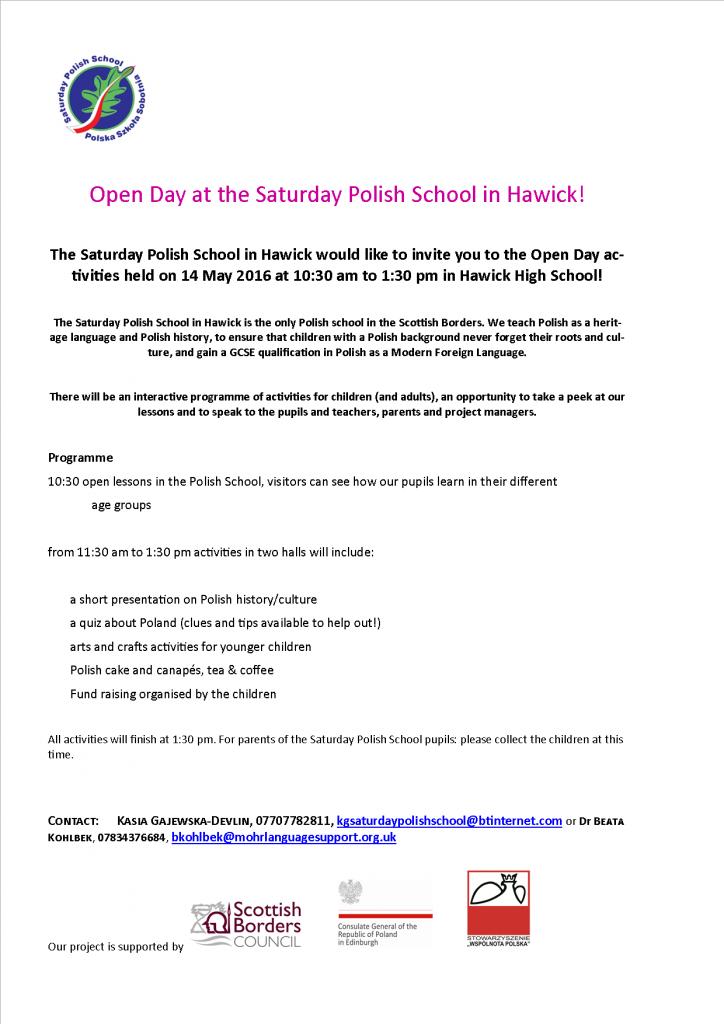 Polish School Open Day